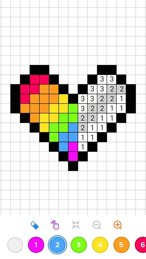 Coloriage Nombre.Down Charger Un Jeu Nombre A Colorier Sandbox Coloriage Androide