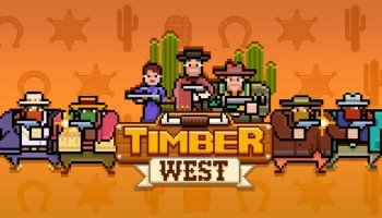 Timber West - Tireur d'arcade Wild West