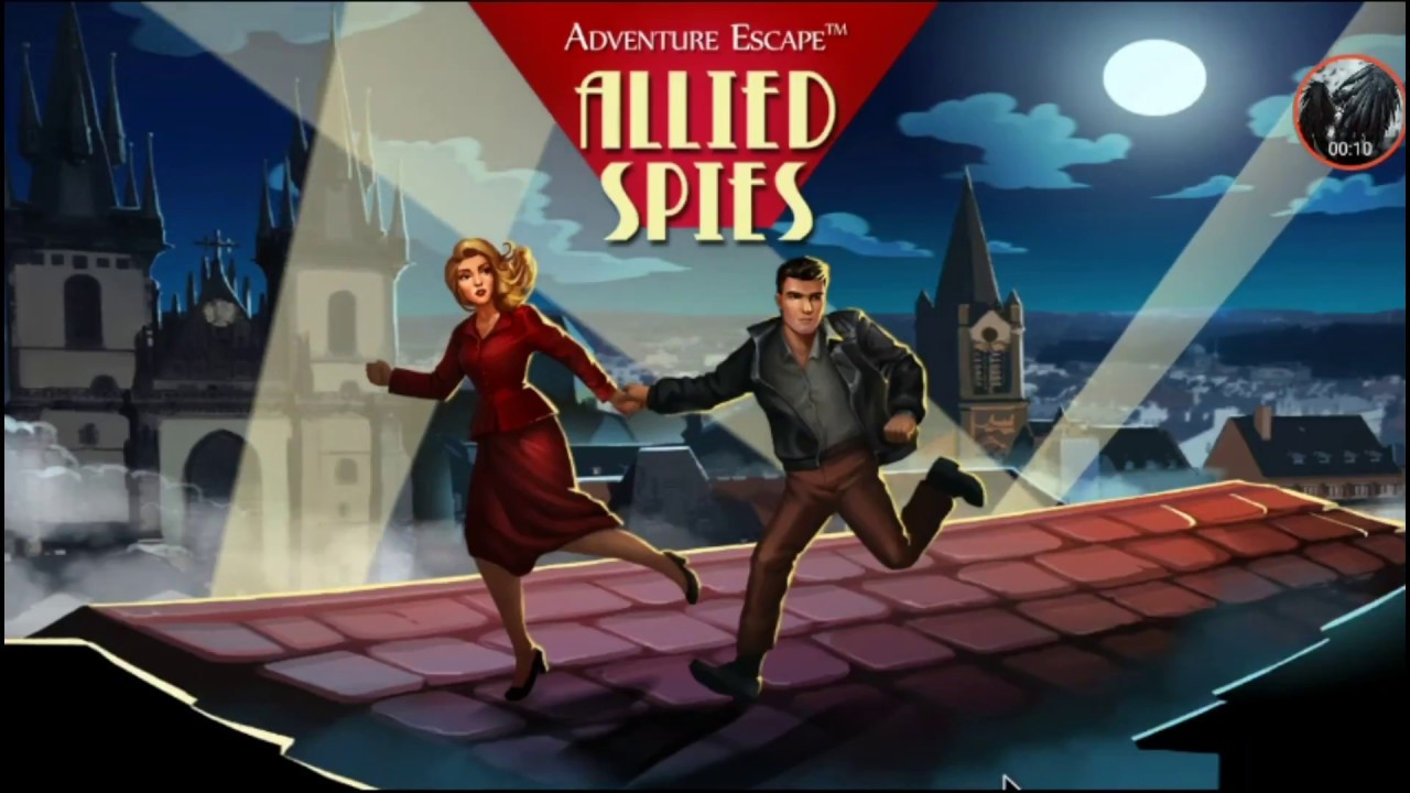 Aventure Escape: Spies Alliés