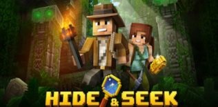 Hide and Seek - Minecraft style