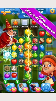 Fruit Land - match3 aventure