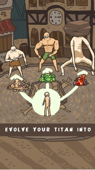 Titan Evolution mondiale