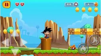 Super Goku Jungle Run
