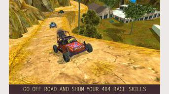 Off Road 4x4 Colline Buggy Race