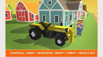 Blocky Ouvrier agricole Simulator